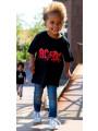 Kids ACDC T-Shirt walking on the street