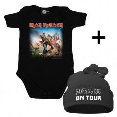 Iron Maiden Baby Body & Metal Kid on Tour Mützchen
