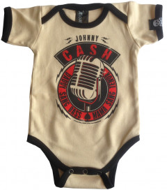 Johnny Cash body baby rock metal Daddy Sang Bass