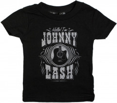 Johnny Cash Kids T-shirt I'm Johnny