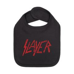 Slayer Lätzchen rot logo