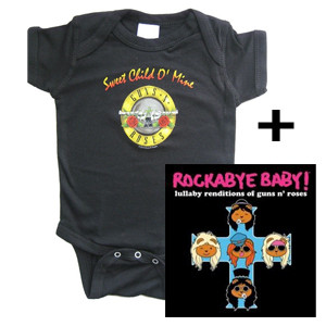 Guns and Roses Body & RockabyeBaby CD