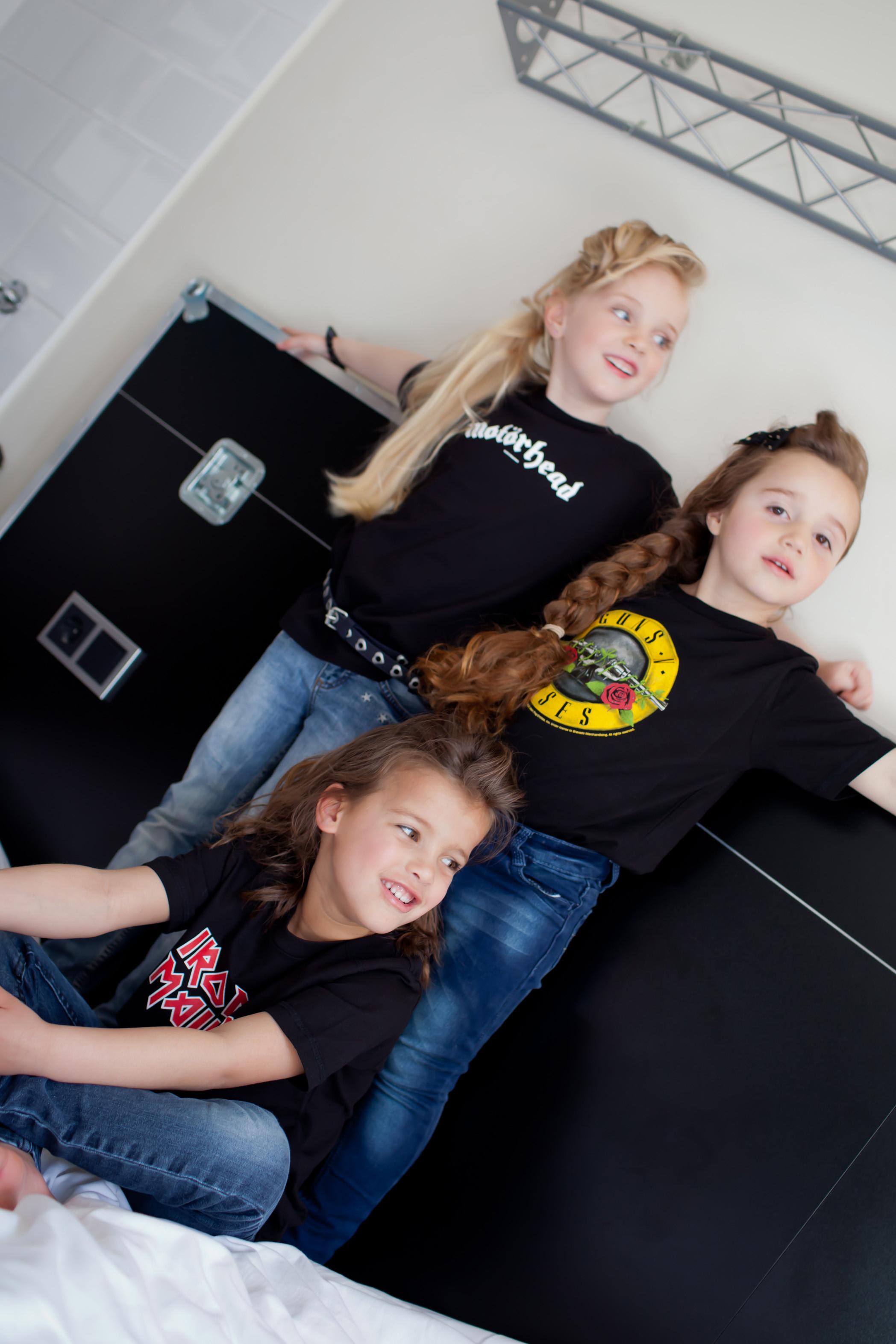 Iron Maiden kinder t-shirt group 3 girls