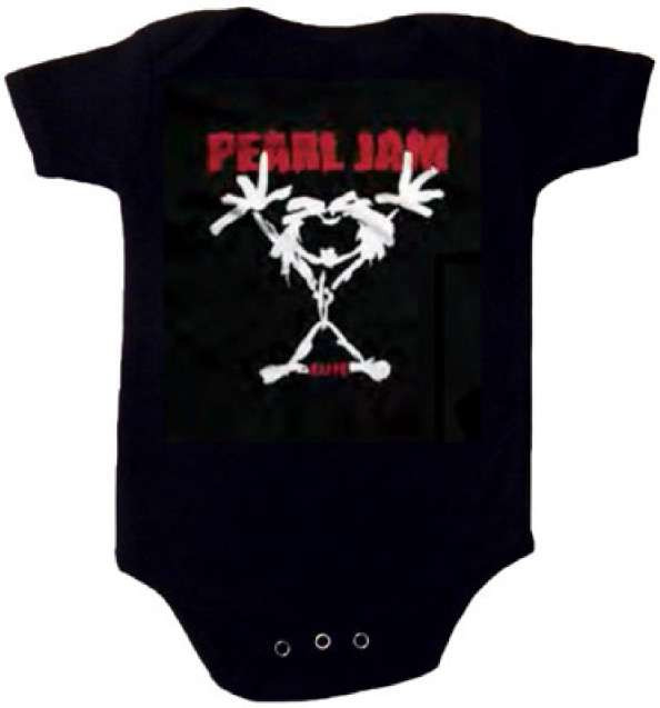 Pearl Jam body baby rock metal Stickman