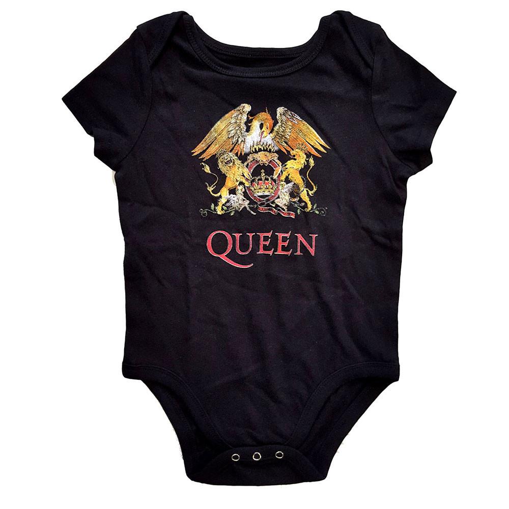 Queen Baby Body Classic Crest