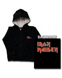 Iron Maiden Logo kinder Sweater/Kapuzenjacke (print on demand)