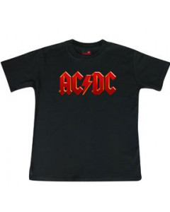 Kids ACDC T-Shirt Metal Logo Colour