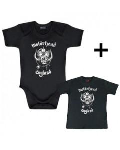 Motörhead Baby Body England & Motörhead Baby T-shirt England