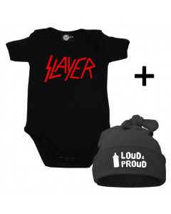 Slayer Baby Body & Loud & Proud Mützchen