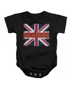 Def Leppard Baby Body Lil Union Jack
