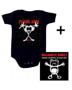 Pearl Jam Baby Body Stickman & Pearl Jam CD