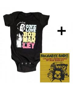 Bob Marley Baby Body Smile & Bob Marley CD