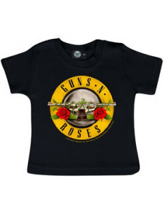 Guns and Roses Baby T-shirt Bullet Guns 'n Roses -import