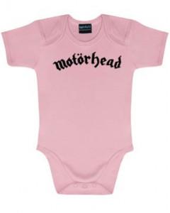 Motörhead Baby Body Logo Pink