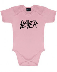 Slayer Baby Body Logo Pink