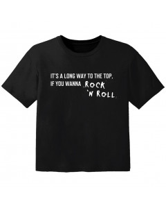 Rock Baby Shirt its a long way to the top if you wanna Rock 'n' roll