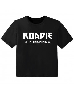 cool Baby Shirt roadie in training