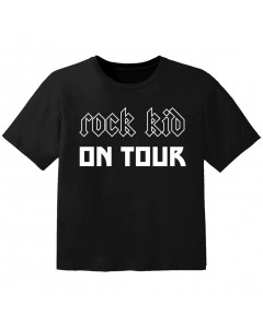 Rock Baby Shirt Rock kid on tour