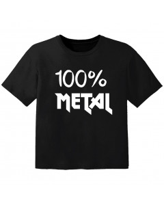 Metal Kinder T-Shirt 100% Metal