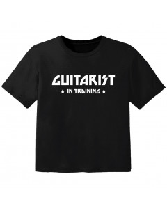 Rock Kinder T-Shirt guitarist in training