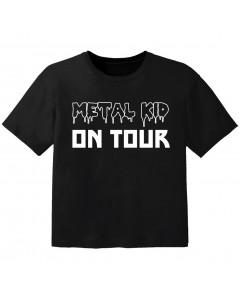 Metal Kinder T-Shirt Metal kid on tour