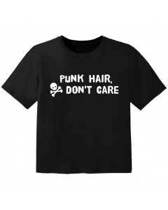 Punk Kinder T-Shirt Punk hair don't care