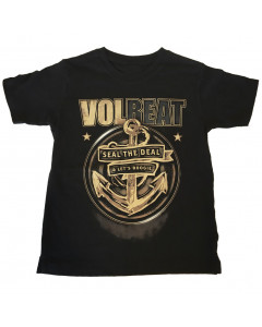 Volbeat Kinder T-Shirt Seal the deal Volbeat