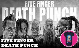 Five Finger Death Punch Baby & Kinder Kleidung