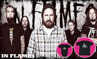 In Flames Baby & Kinder Kleidung