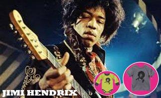 Jimi Hendrix Baby & Kinder Kleidung