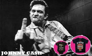 Johnny Cash Baby & Kinder Kleidung